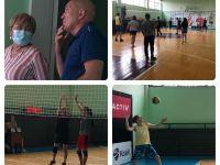 Соревнования по волейболу в честь Дня медицинского работника