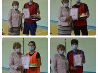 Соревнования по волейболу в честь Дня медицинского работника. Награждение команд